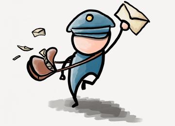 Mailman Running