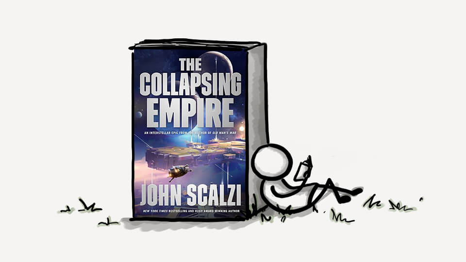 (A Very Short) Book Review: The Collapsing Empire by John Scalzi